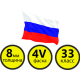 Ламинат Tarkett ( Таркетт ) Balet 4V (Россия)